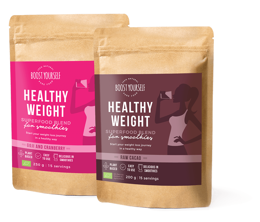 Boost Yourself supertoidusegud Healthy Weight