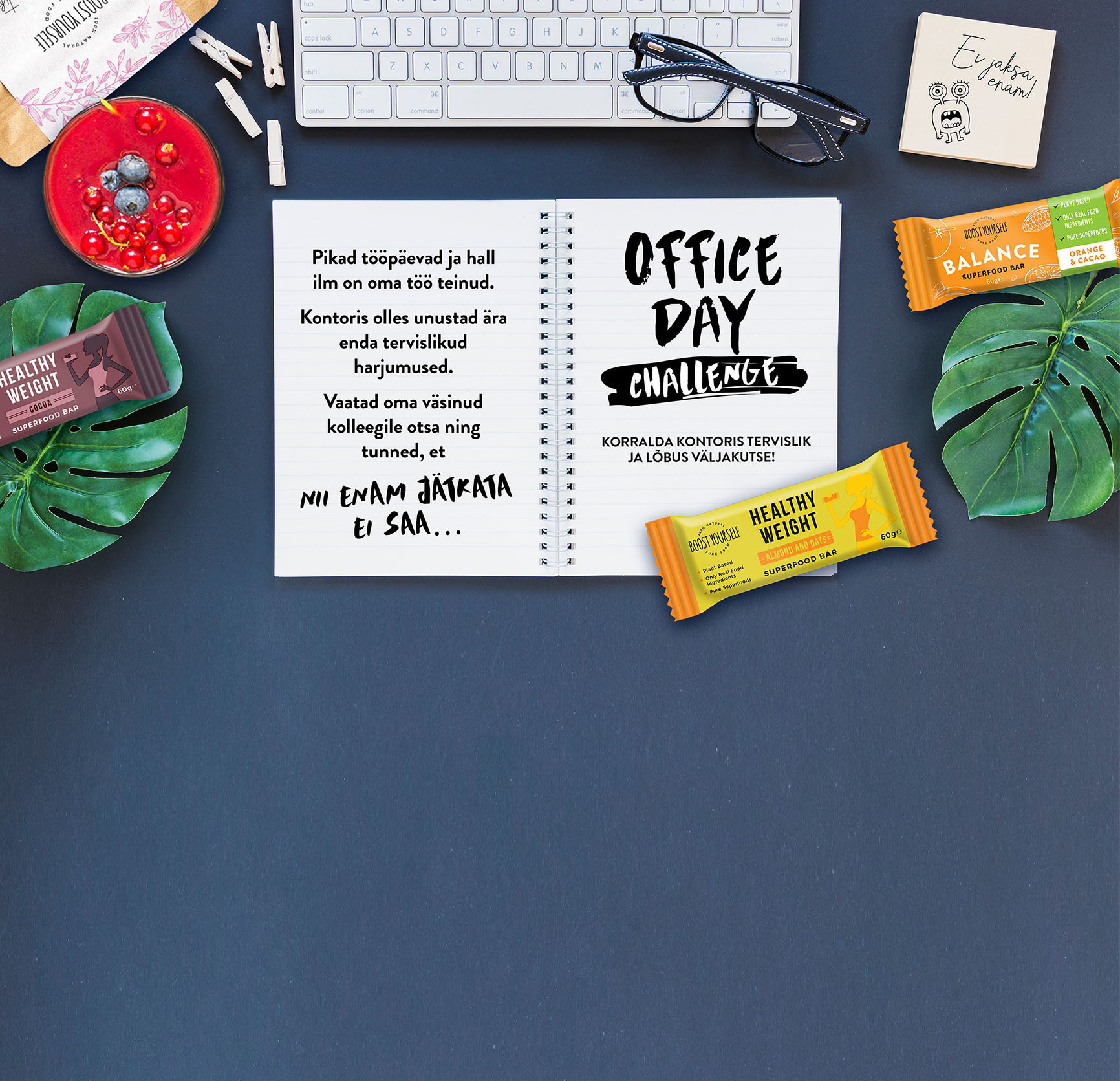 Boost Yourself Office Day Challenge