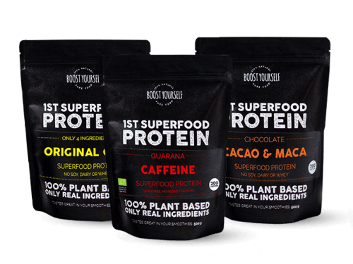 Boost Yourself taimne proteiinipulber