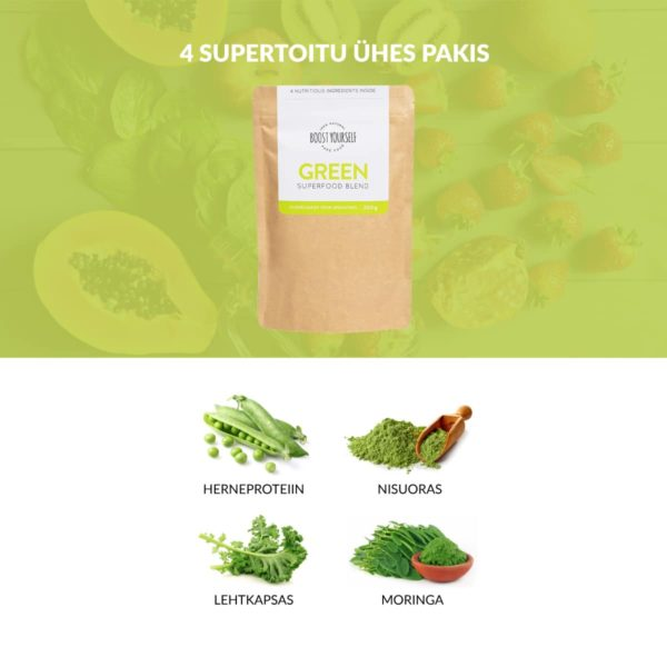 Boost Yourself Green supertoidusegu