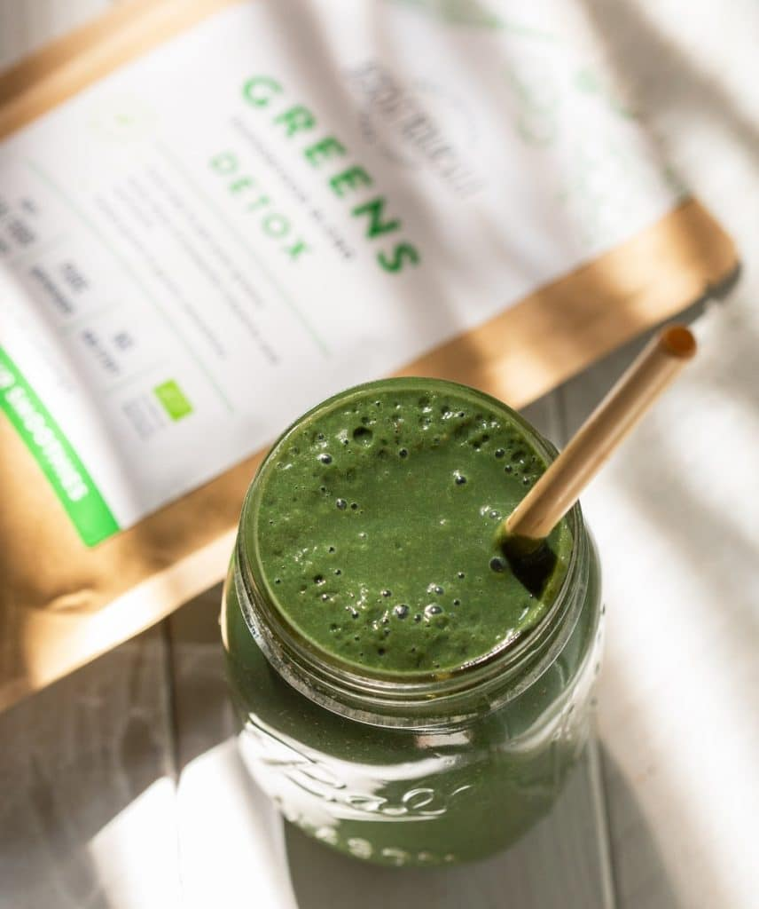 Boost Yourself Detox supertoidusegu roheline smuuti