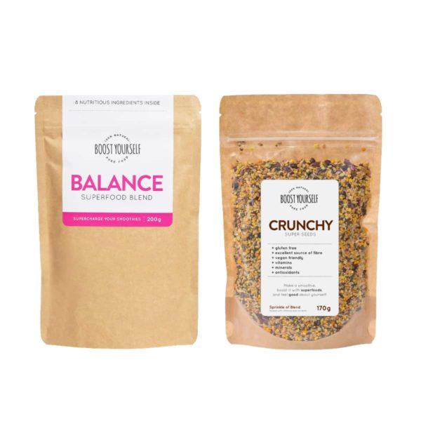 Boost Yourself Balance ja Crunchy supertoidusegud