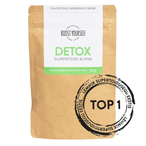 Boost Yourself Detox supertoidusegu smuutidele