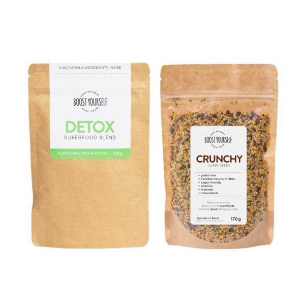 Boost Yourself Detox ja Crunchy supertoidusegud