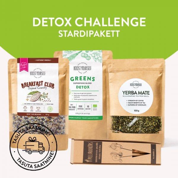 Detox Challenge stardipakett pillirookõrtega
