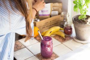 Asenda toidukord tervisliku smuutiga