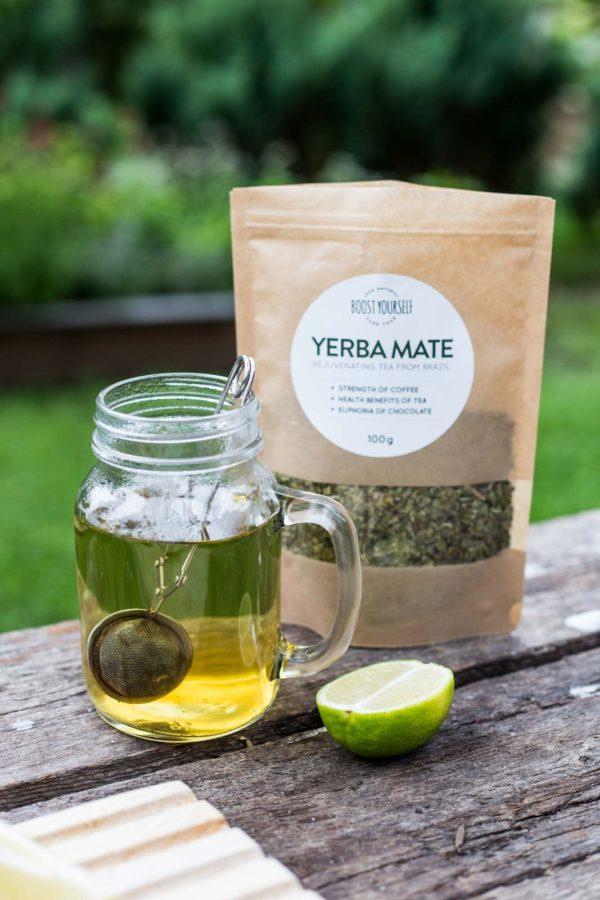 Yerba Mate tee valmistamine