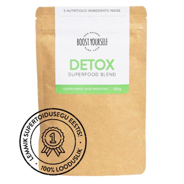 Boost Yourself Detox supertoidusegu smuutidele