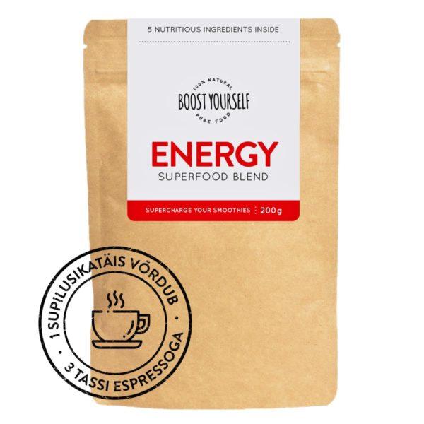 Boost Yourself supertoidusegu smuutidee Energy
