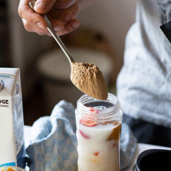 Boost Yourself Chocolate taimne proteiinisegu