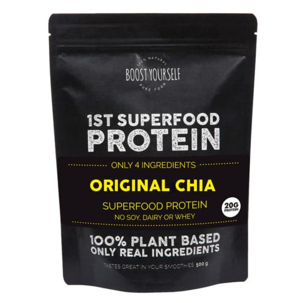 Boost Yourself original chia proteiinisegu