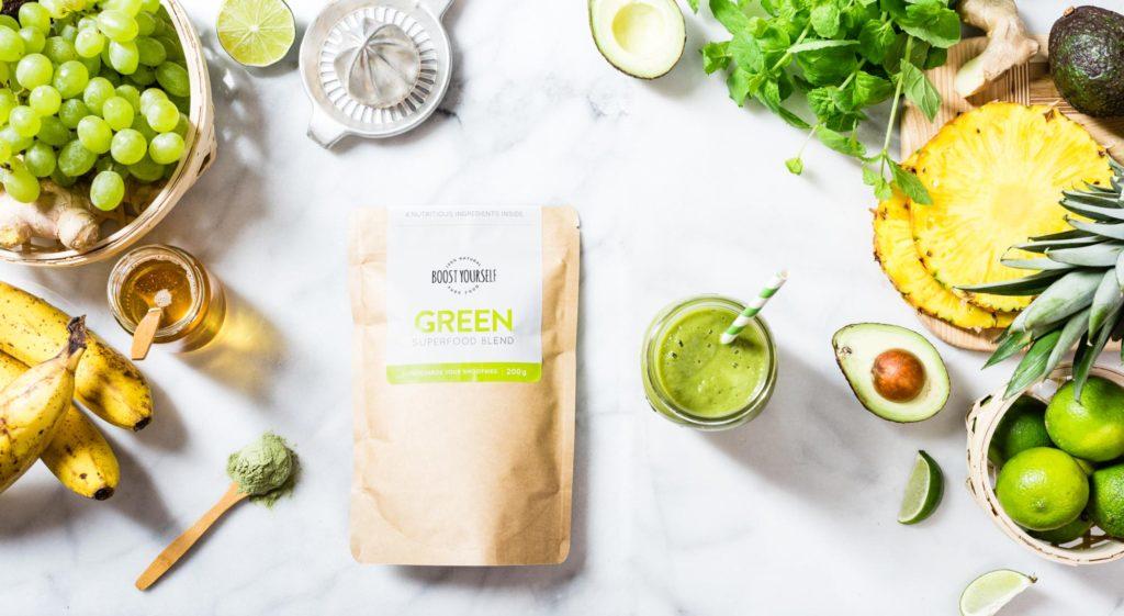 Rohelise smuuti retsept supertoitidega