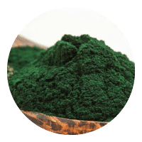 spirulinas on 10 mineraali