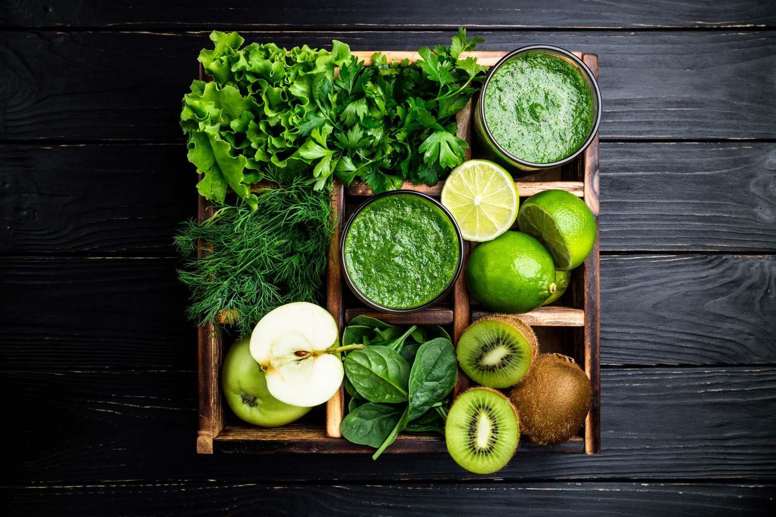 Tervislikud rohelised smuutid