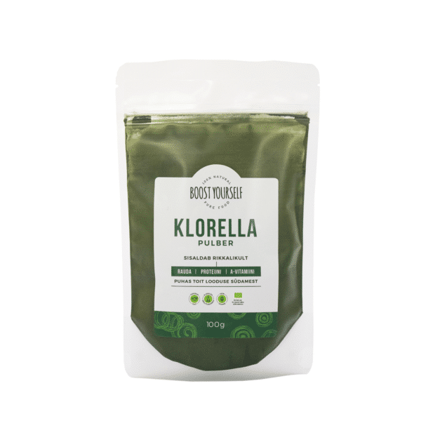 Boost Yourself Klorella pulber