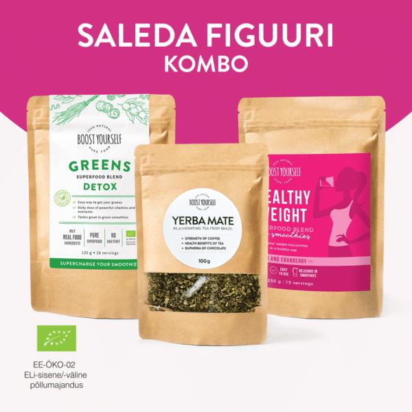 Boost Yourself sale figuur kombo detox green yerba healthy weight