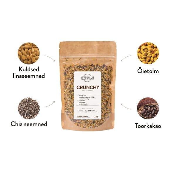 Boost Yourself Crunchy seemnesegu