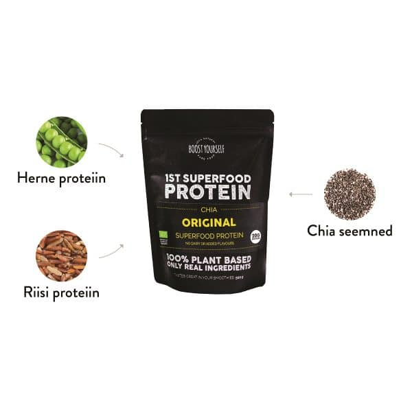 Boost Yourself Original taimne proteiinisegu