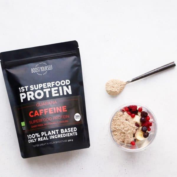 Boost Yourself Caffeine taimne proteiinisegu