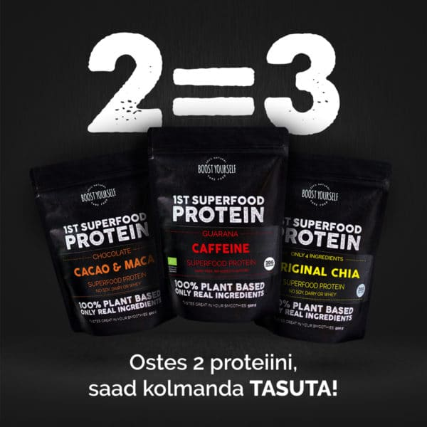 Boost Yourself 2=3 proteiinikombo