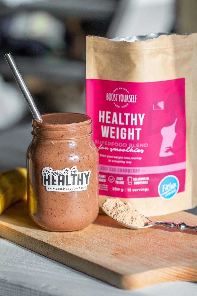 Fitlap soovitab: Boost Yourself Healthy Weight Superfood smuuti