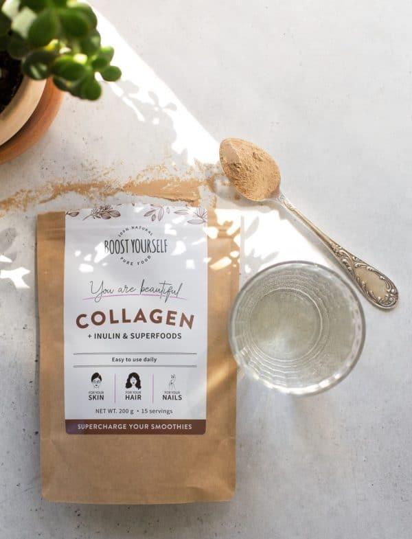 Boost Yourself kakao kollageen inuliiniga