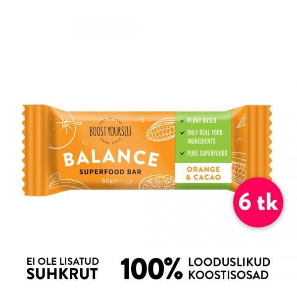 Boost Yourself supetoidubatoonid apelsini-kakao