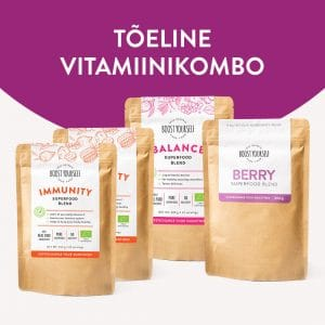 Boost Yourself C-vitamiini supertoidukombo