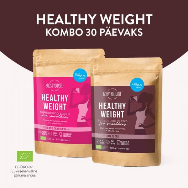 Boost Yourself Healthy Weight kombo 30 päevaks