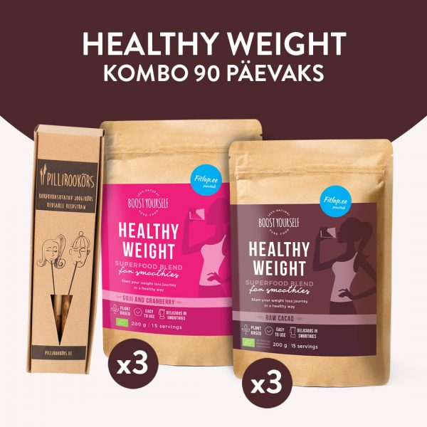 Boost Yourself Healthy Weight kombo 90 päevaks