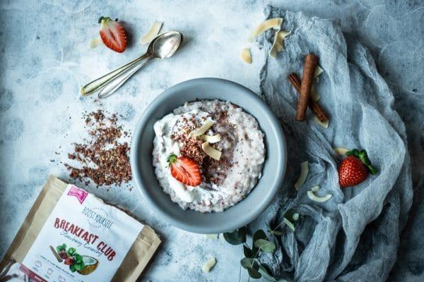 Crunchy marja-kookose supersegu pudrule