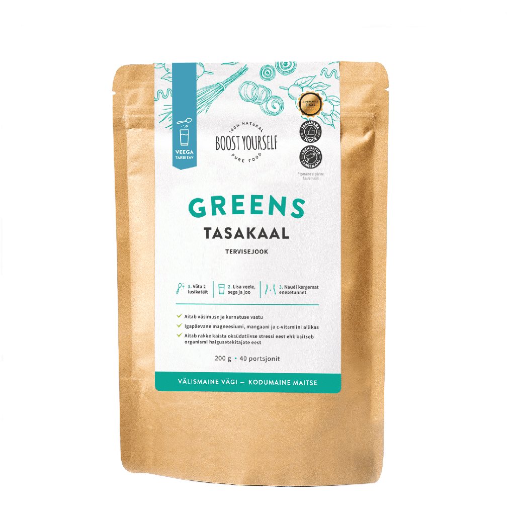 Boost Yourself Greens Tasakaal 200g