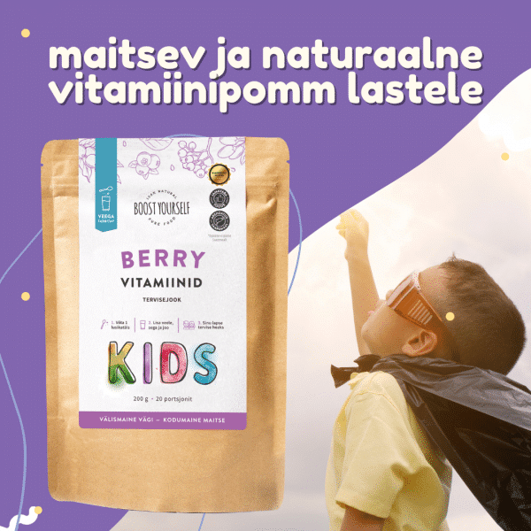 Berry vitamiinid Kids boost Yourself