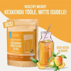 Healthy Weight boost yourself blogi