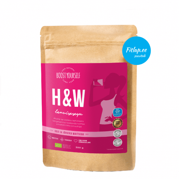 Boost Yourself H&W tervisesegu goji ja jõhvikas 200g