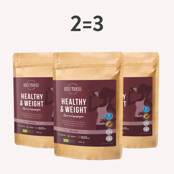 Boost Yourself healthy & weight cacao