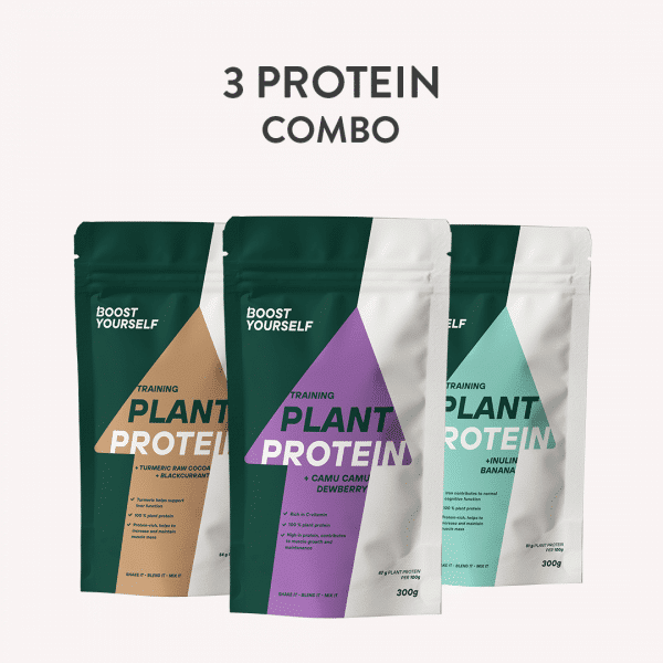 3 protein combo Boost Yourself