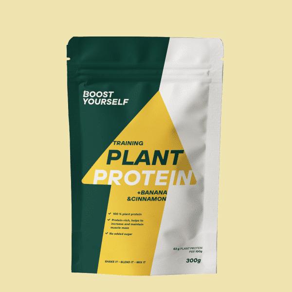 Boost Yourself training plant protein banana cinnamon 300g
