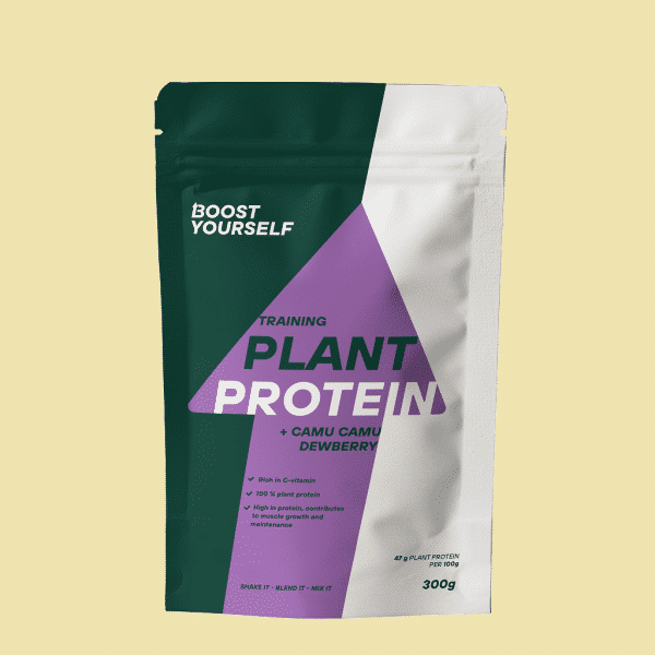 Boost Yourself training plant protein camu camu dewberry 300g
