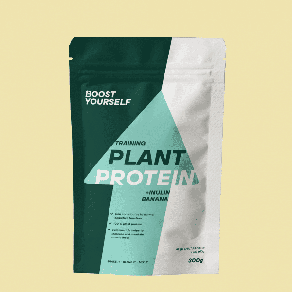 Boost Yourself training plant protein inlulin banana 300g