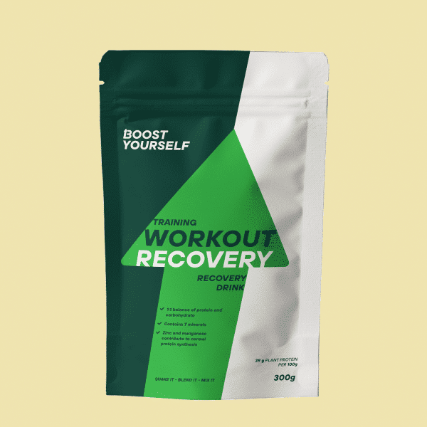 Boost Yourself training workout recovery 300g