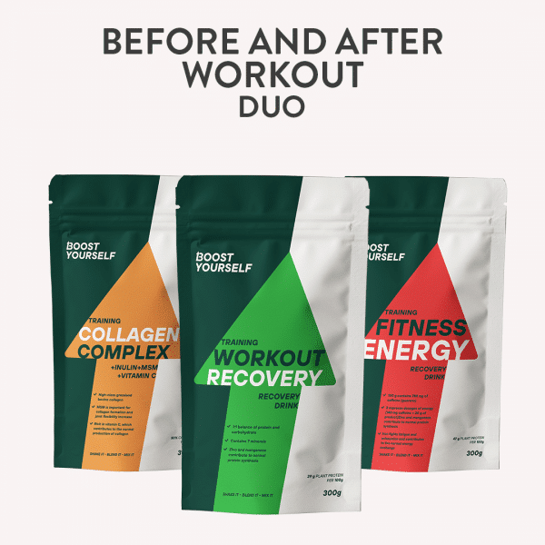 before and after workout combo Boost Yourself