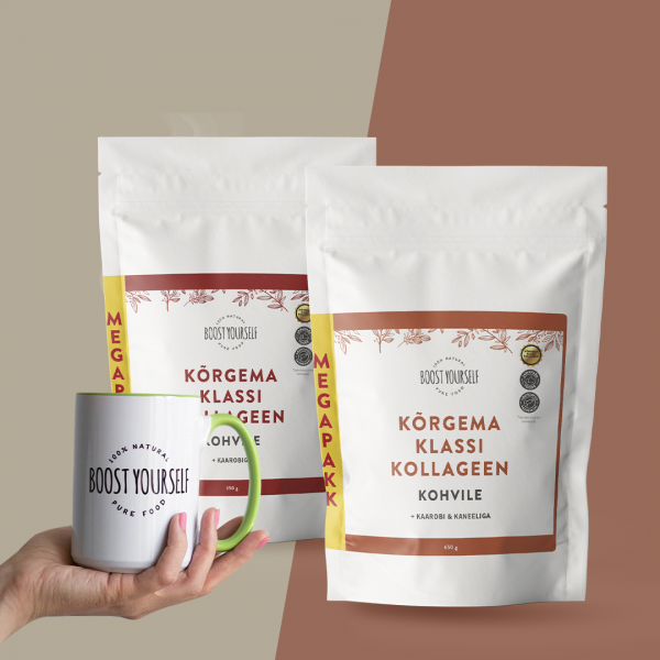 Kohvi kollageeni pakkumine Boost Yourself